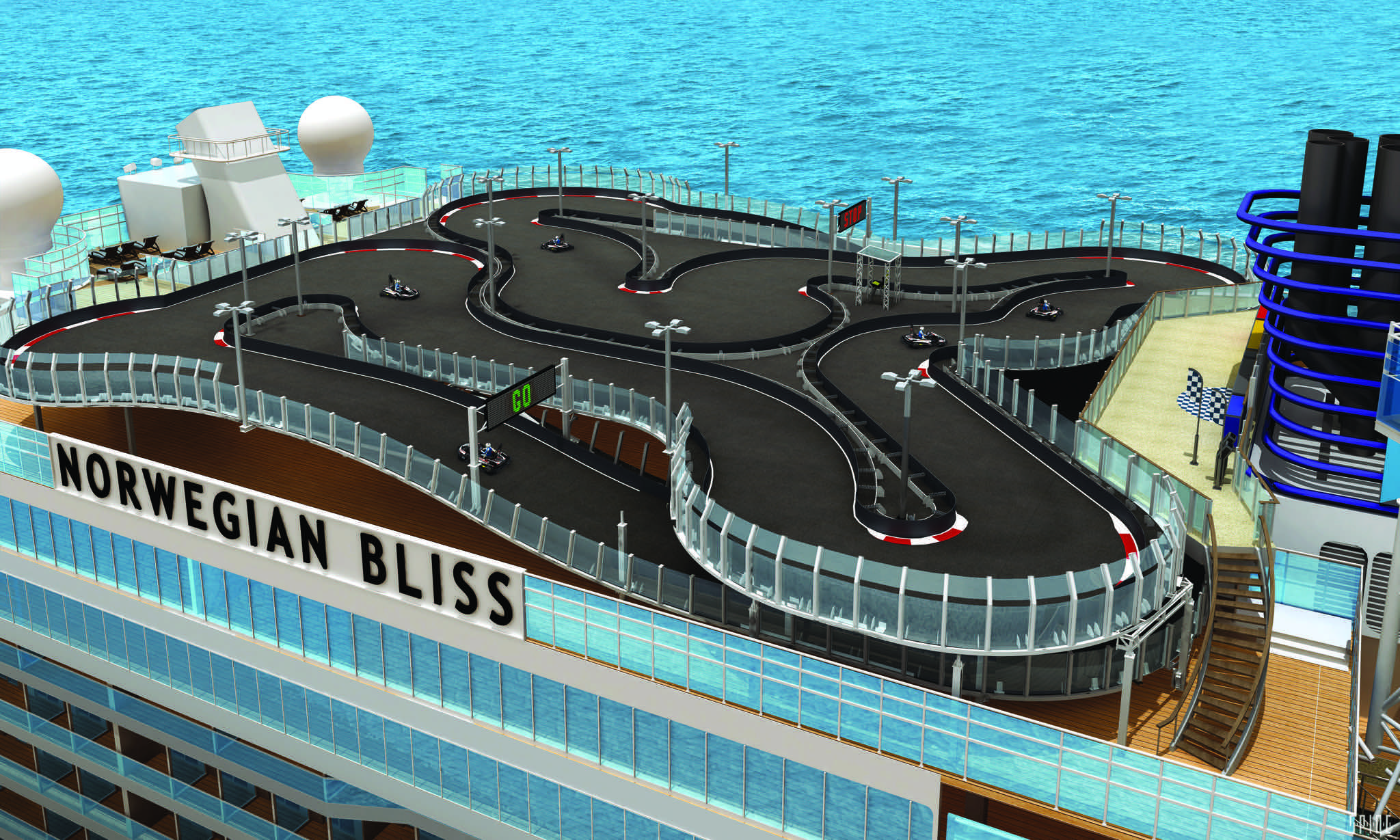 ncl bliss racetrack